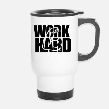 Training Workhard Trainings Say en cadeau - Mug thermos