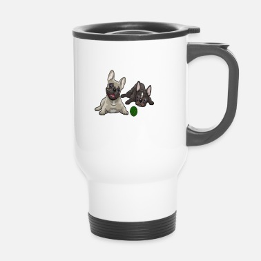 French Bulldog French Bulldog, French Bulldog - Travel Mug