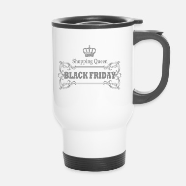 Rebaja BLACK FRIDAY, Shopping Queen, Regalo, Rebajas - Taza termo