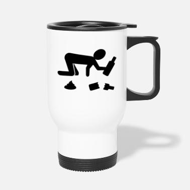 Parody Humorous Comedy Entertaining drunk - Travel Mug