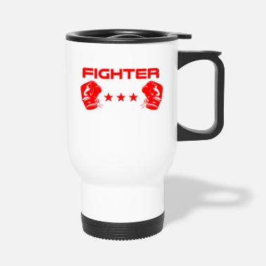 Fighter Fighter boxer fighter - Travel Mug