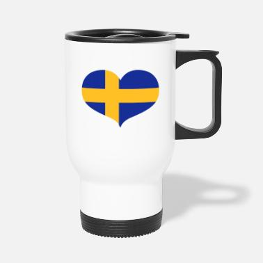 Swedish Swedish Love - Travel Mug