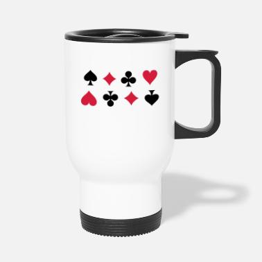 Cards Card Suits - Mug isotherme