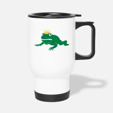 Animal grumpy frog prince - Travel Mug