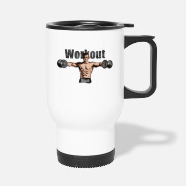 Workout workout - Thermobecher