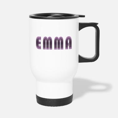 Birth Name Emma name first name name day birth gift idea - Travel Mug