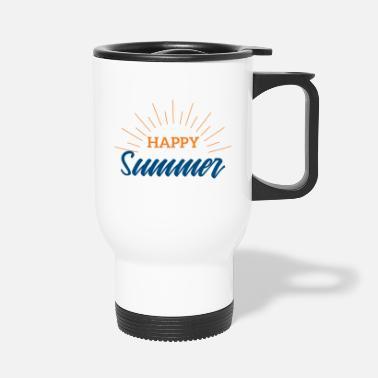 Summer Summer Happy Summer Festival Music Gift - Travel Mug