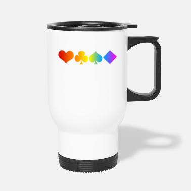 Cards Poker Card Pride - Mug isotherme