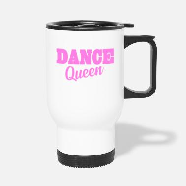 Trance dance queen logo - Travel Mug