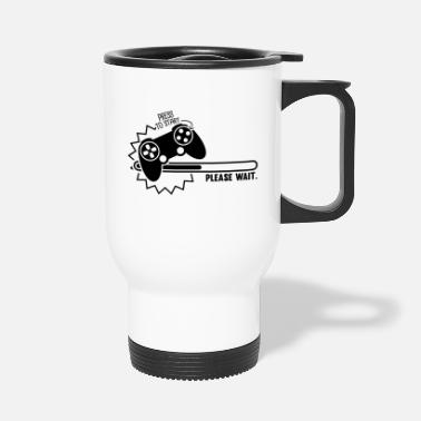 Computer _loading_1_f1 - Travel Mug