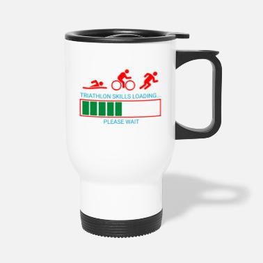 Triathlon Triathlon Swim Bike Run - Travel Mug