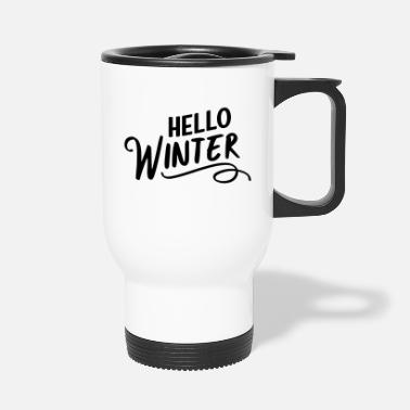 Winter Hello Winter - Travel Mug