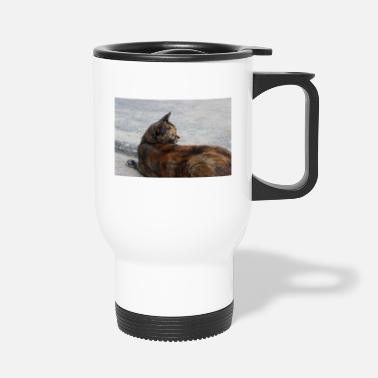 Masque Chat chats chatons chat tigre Poster - Mug isotherme