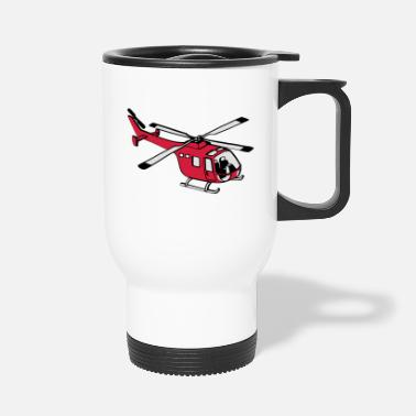 Helicopter Helicopter - Travel Mug