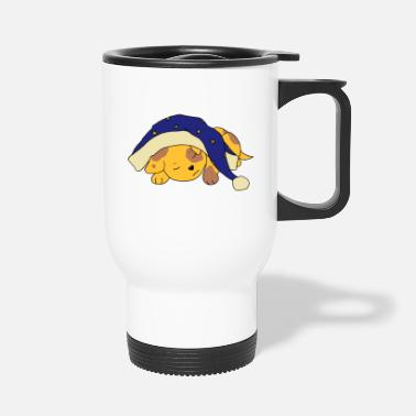 Sleepyhead blue - Travel Mug