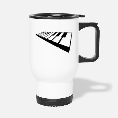 Keyboard keyboard - Travel Mug