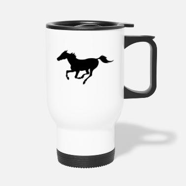 Galop Cheval au galop - Mug isotherme