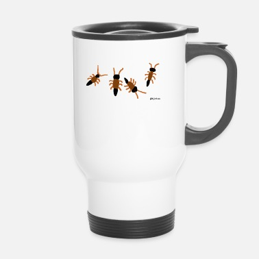 Insecto insectos - Taza termo