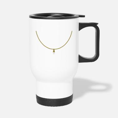 Necklace necklace_ with_ pendant_c1 - Travel Mug