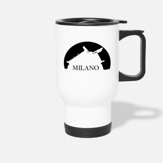 Milan Mugs & Drinkware - San Siro Stadium, Milan - Travel Mug white