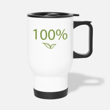 Diet Organic food gift 100% nature Pure nature - Travel Mug
