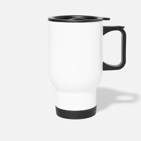 Dj Mugs & Drinkware - Vinyl Record - Travel Mug white