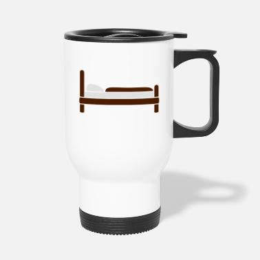 Bed bed - Travel Mug