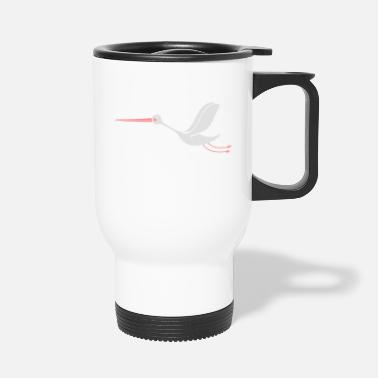 Cigogne stork - Travel Mug