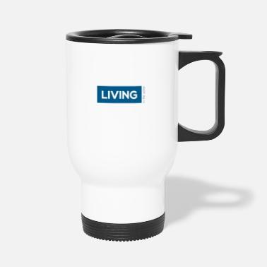 TS living water blau - Thermobecher