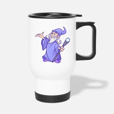 Zaubertrank zauberer wizard sorcerer magie magic witch zaubere - Thermobecher