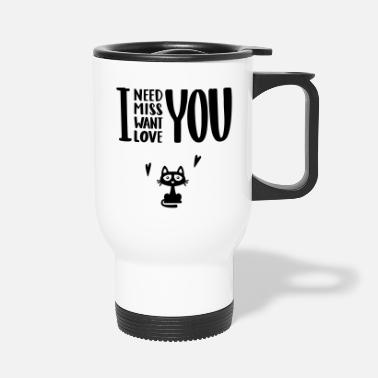 Love i love you - Travel Mug