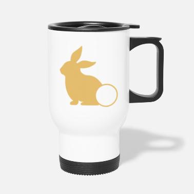 Ostern Backen Bunny Back Geschenk Ostern Osterhase Hase Osterge - Thermobecher