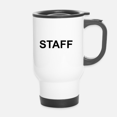 Staff PERSONNEL noir - Mug thermos