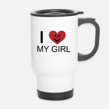 Love fille - Mug thermos