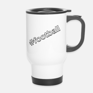 Ballon De Foot Football hashtag - Mug thermos