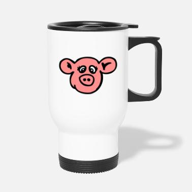 Sow naughty sow - Travel Mug