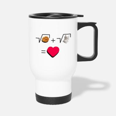 Pull The Root Cookies and cat Cat and biscuits alike love - Travel Mug