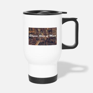 empire state of mind nyc new york - Travel Mug