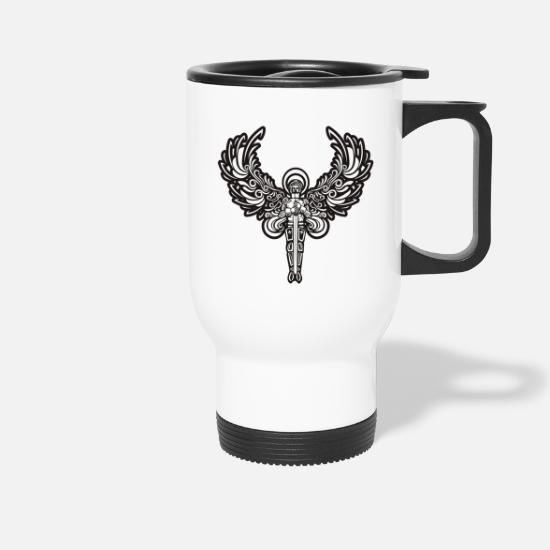 Headset Mugs & Drinkware - Mystical angel - Travel Mug white