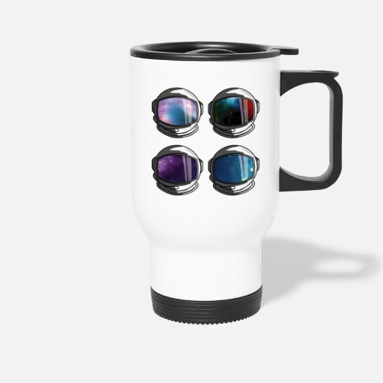 Astronaut Mugs & Drinkware - Ready for the flight - Travel Mug white