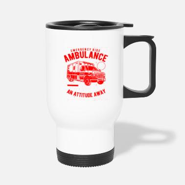 Ambulance Ambulance Emergency ride - ambulance - Travel Mug