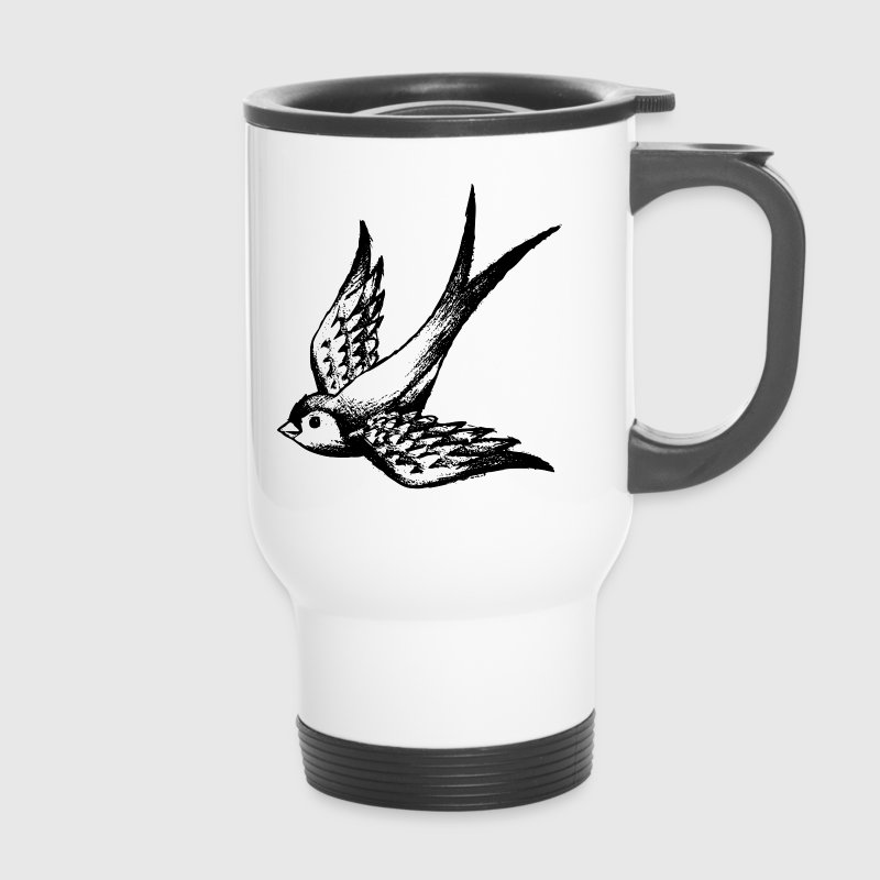 swallow bird summer wings - Mug thermos