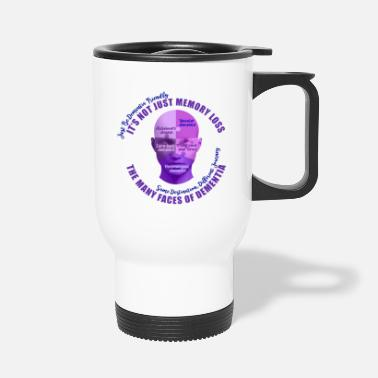 Mixed Dementia The Many Faces of Dementia - Travel Mug