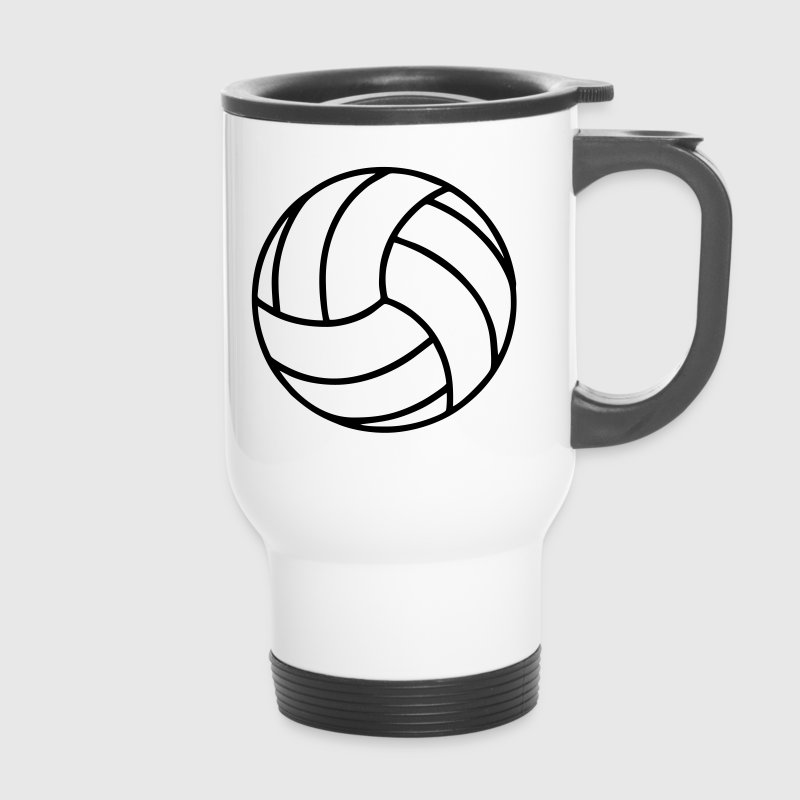 Volleyball - Thermobecher