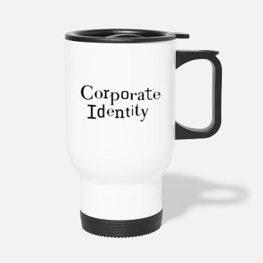 Corporate Corporate Identity - CI corporate identity - Travel Mug