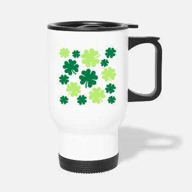 Shamrocks Shamrocks - Travel Mug