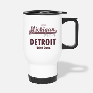 Detroit Detroit - Travel Mug