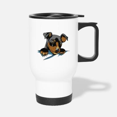 Dog Friend Dog In Pocket - Dog - Dog friend best friend - Travel Mug