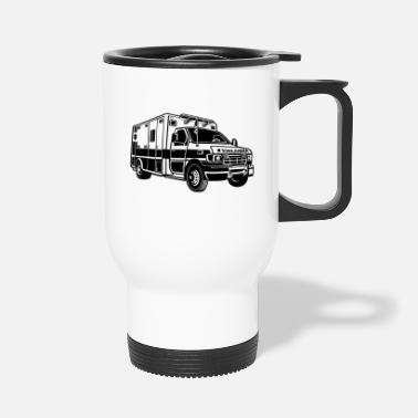 Ambulance Ambulance / ambulance 01_black - Travel Mug