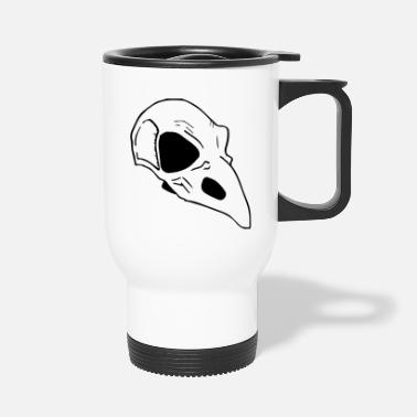 Bird Skull Bird skulls - Travel Mug
